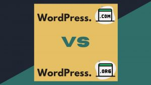 wordpress.com vs wordpress.org - וורדפרס