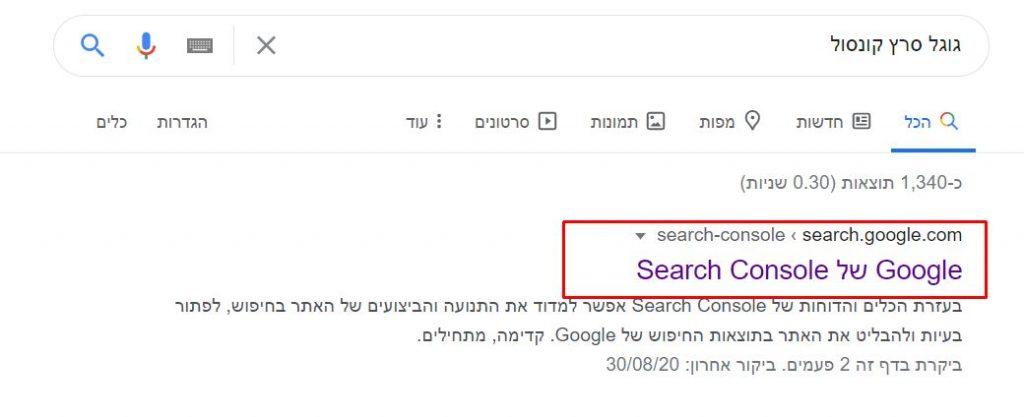 גוגל סרץ'